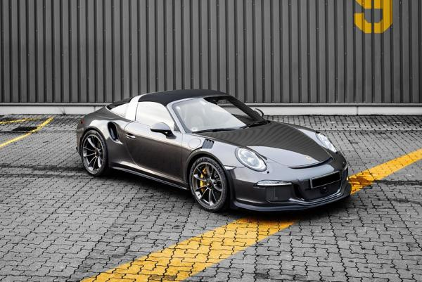 McChip-DKR Transforms the Porsche 911 Targa 4 GTS into a Racer