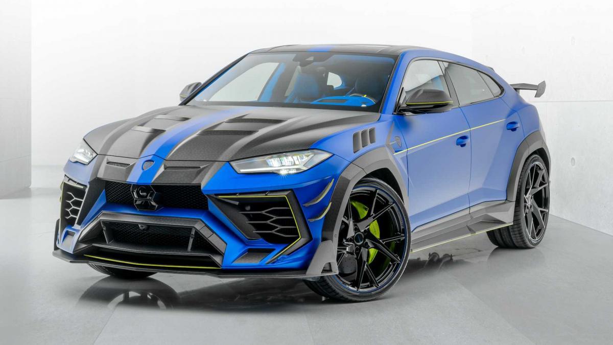 Mansory Venatus Is A Lamborghini Urus Void Of Inconspicuity