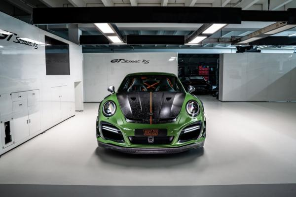 The Tech Art GTstreet RS is a 911 Turbo S on Steroids!