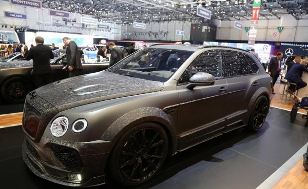 Mansory Bentley Bentayga Black Edition