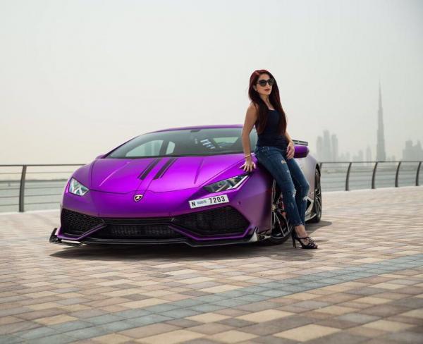 Purple Revozport Lamborghini Huracan