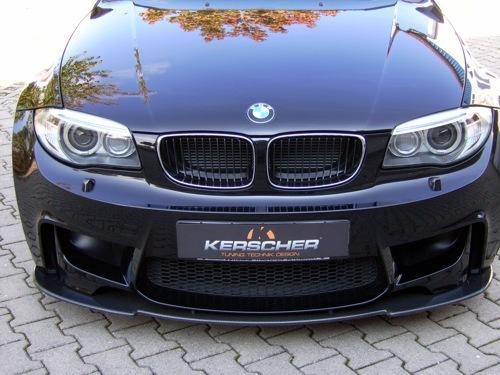 KERSCHER Carbon Front Lip for BMW 1M