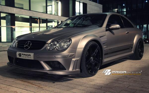 BLACK EDITION Widebody kit for Mercedes CLK W209