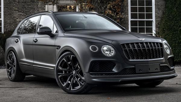 The Kahn Bentley Bentayga Centenary Edition is a Mean Black Machine