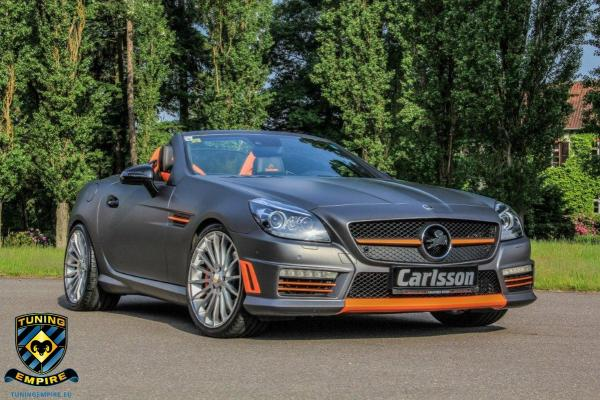 Carlsson reveals Mercedes-Benz CSK55 based on SLK 55