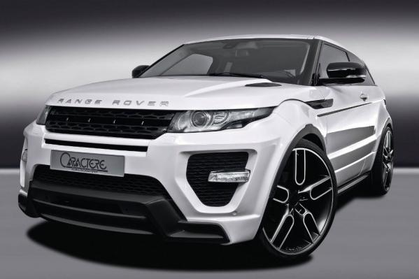 CARACTERE EXCLUSIVE - RANGE ROVER Evoque