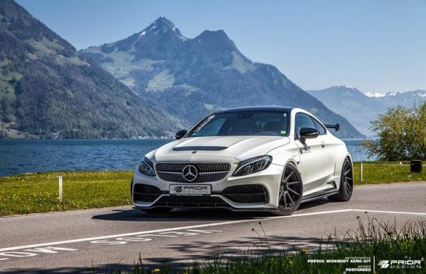 Mercedes-Benz C-Class Coupe W205 Widebody by Prior Design