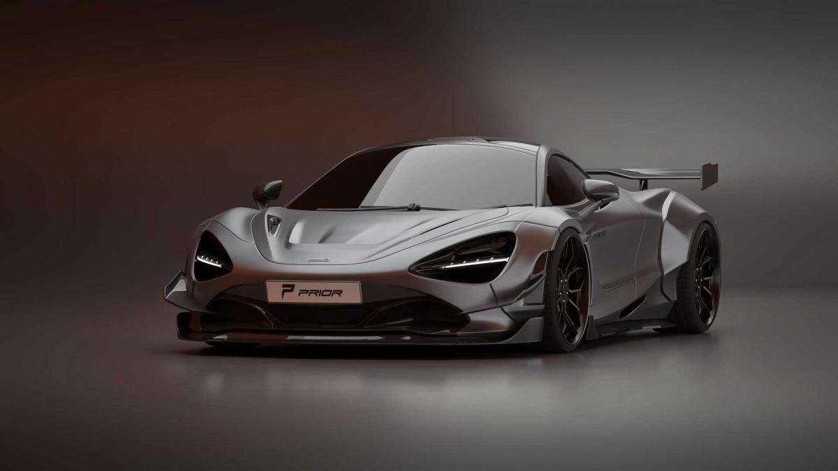 McLaren 720S By Prior Design Looks Wide And Wild