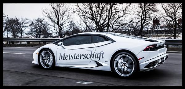 GT Haus Meisterschaft exhaust for Lamborghini Huracan LP 610