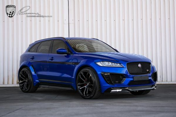 LUMMA-DESIGN JAGUAR F-PACE CLR F BODY KIT