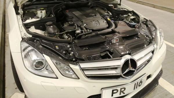 BOCA DESIGN Mercedes Benz E-Class Coupe 200/250 CGI Carbon fiber Cold Air Intake