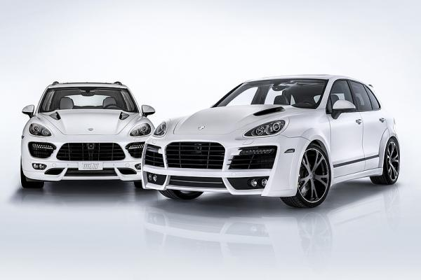 Techart Power kit for Porsche Cayenne Diesel