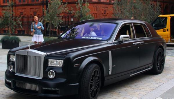 MANSORY Conquistador – Rolls Royce Phantom