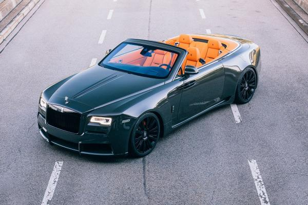 Take an Open-Air Ride in the One-of-Eight Spofec Overdose Rolls Royce Dawns