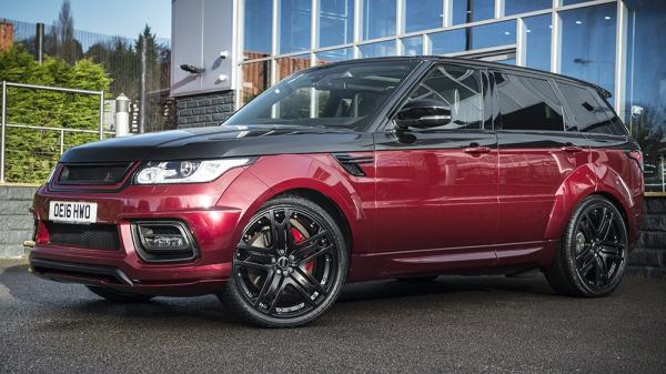 Get Sporty with the Project Kahn Range Rover Sport Autobiography Dynamic Pace Car!