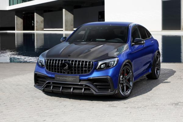 Topcar Gives Mercedes-Benz GLC Coupe New Look