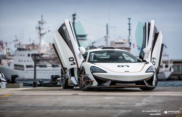 STUNNING MCLAREN 570S CAR TUNING BY PRIOR-DESIGN