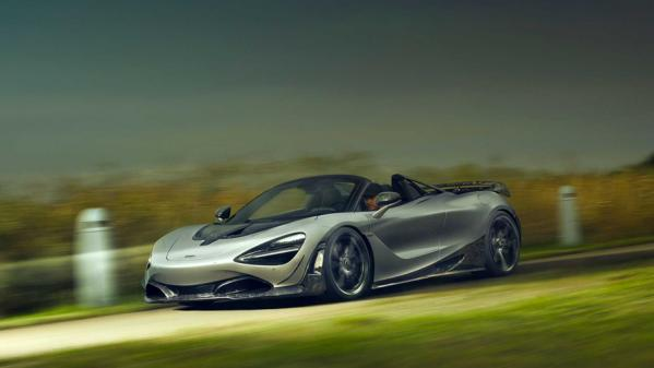 NEW MCLAREN 720S SPIDER FORGED CARBON BY NOVITEC