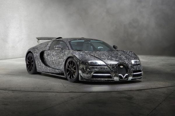 The Mansory Bugatti Vivere Diamond Edition by Moti is a Marbled Machine