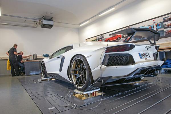 KW Suspension development for Lamborghini Aventador