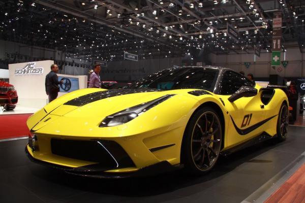 Ferrari 488 Siracusa by Mansory