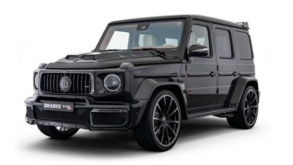 Mercedes G-Class Gets V12 Engine From Brabus, Packs 888 HP