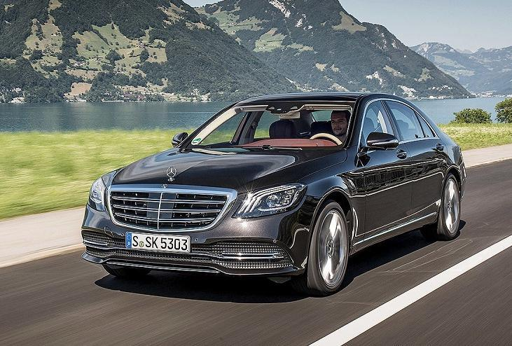 Mercedes Benz Facelift Kit for S-Class W222 2017