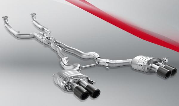 BMW M5 F10 Akrapovic exhaust