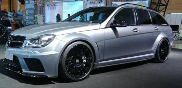 Black Series upgrade for your C63 AMG prefacelift and facelift - Made in Germany