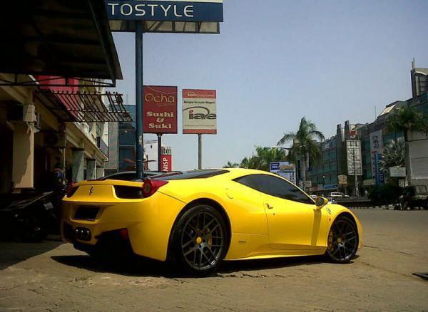 BC Forged wheels for Ferrari