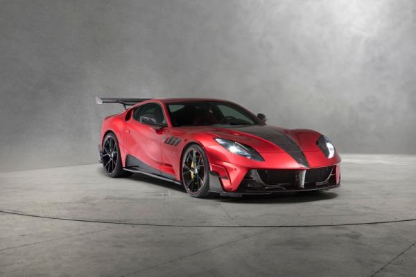 Turn Heads with the New Mansory Stallone Ferrari 812 Superfast!