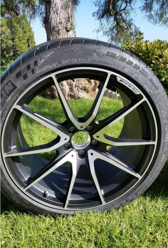 Mercedes SLS AMG Black Series wheels