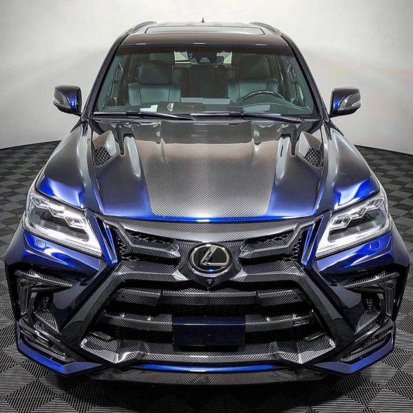 LEXUS LX 570 Carbon Fiber 'SPECIAL EDITION' BODY KIT for 2015-2017 and new facelift 2018