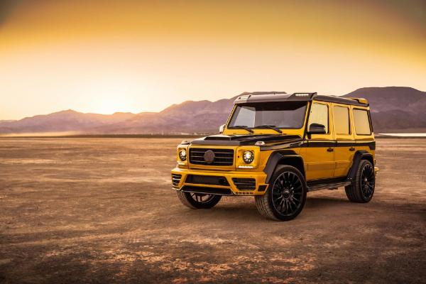 Mansory Widebody Kit for Mercedes-Benz G-Class