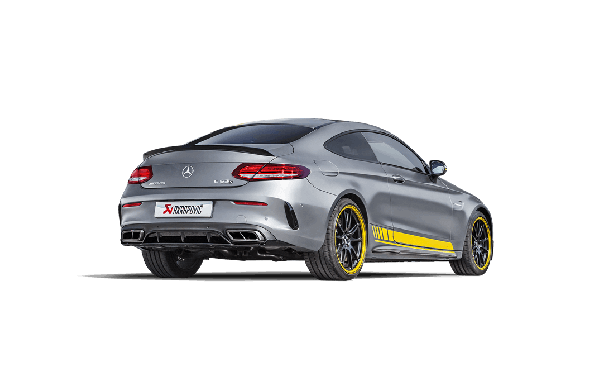 Akrapovic Reveals New Exhaust System for Mercedes-AMG C63 W205