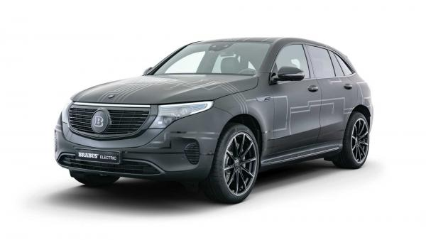Brabus Gives Mercedes-Benz EQC Power And Torque Bump