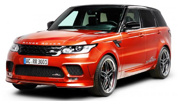 AC Schnitzer presents tuning package for Range Rover Sport