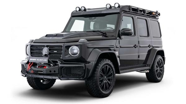 Mercedes G-Class With Brabus Adventure Package Is Ready To Explore