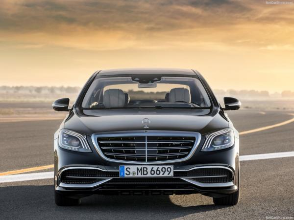 Mercedes-Benz MAYBACH S-Class W222 upgrade to 2018 Facelift Maybach W222.