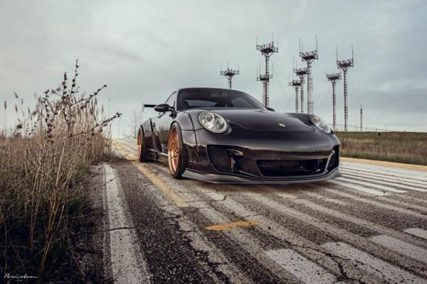 Featured Fitment: Porsche 911 with Brixton Forged HS1 Wheels