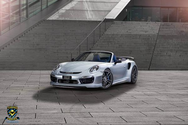 Stunning TechArt Porsche 911 Turbo S Cabriolet!