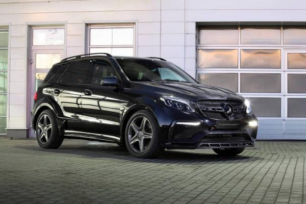 Mercedes Benz GLE Class Inferno Body kit by TopCar