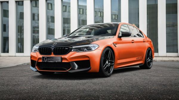 217-MPH BMW M5 By G-Power Rocks You Like A Hurricane With 829 HP