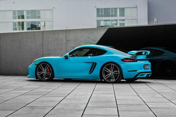 Techart Porsche 718 Cayman and Boxster Gets 400hp