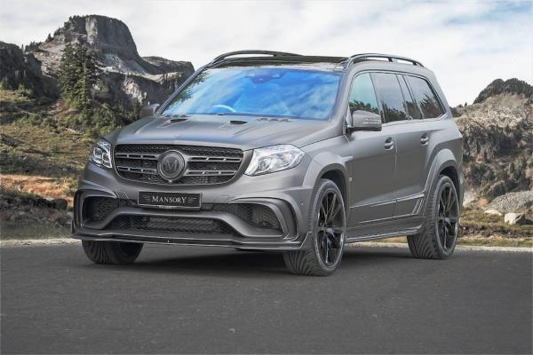 840hp Mercedes-Benz GLS 63 AMG by Mansory