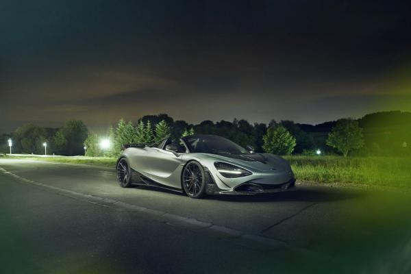 Novitec Reveals McLaren 720S Spider with Forged Carbon