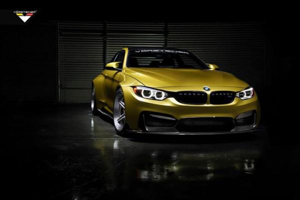 VORSTEINER GTRS4 Widebody kit for BMW M4 Coupe – now available !
