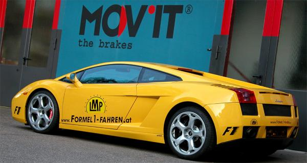 MOV'IT brakes for Lamborghini Gallardo
