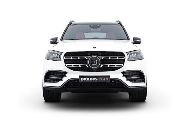 Brabus PowerXtra D40 Kit Gives the Mercedes-Benz GLS Extra Kick and Speed