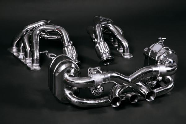 CAPRISTO Valve-controlled exhaust system for F458